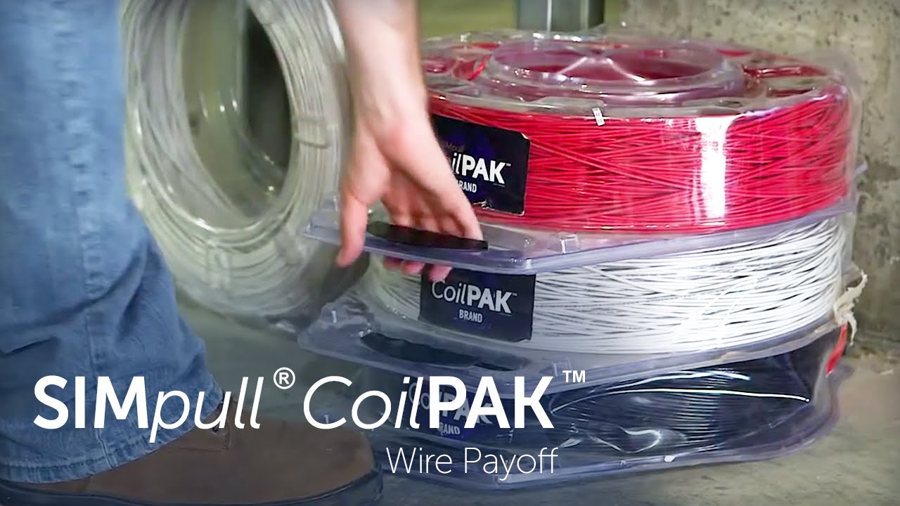 SIMPull CoilPAK Wire Payoff