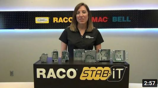 raco stab it cab management